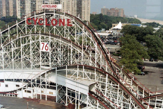 Coney Island - Home of the Cyclone & Cyclones
