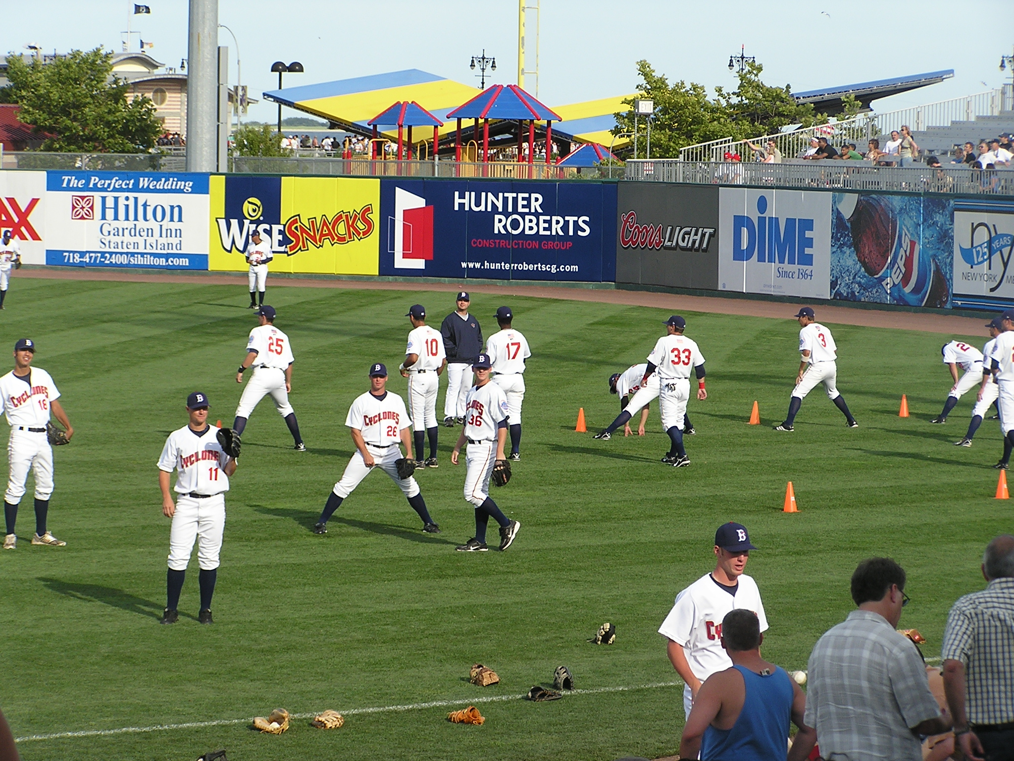 Brooklyn Cyclones pre game