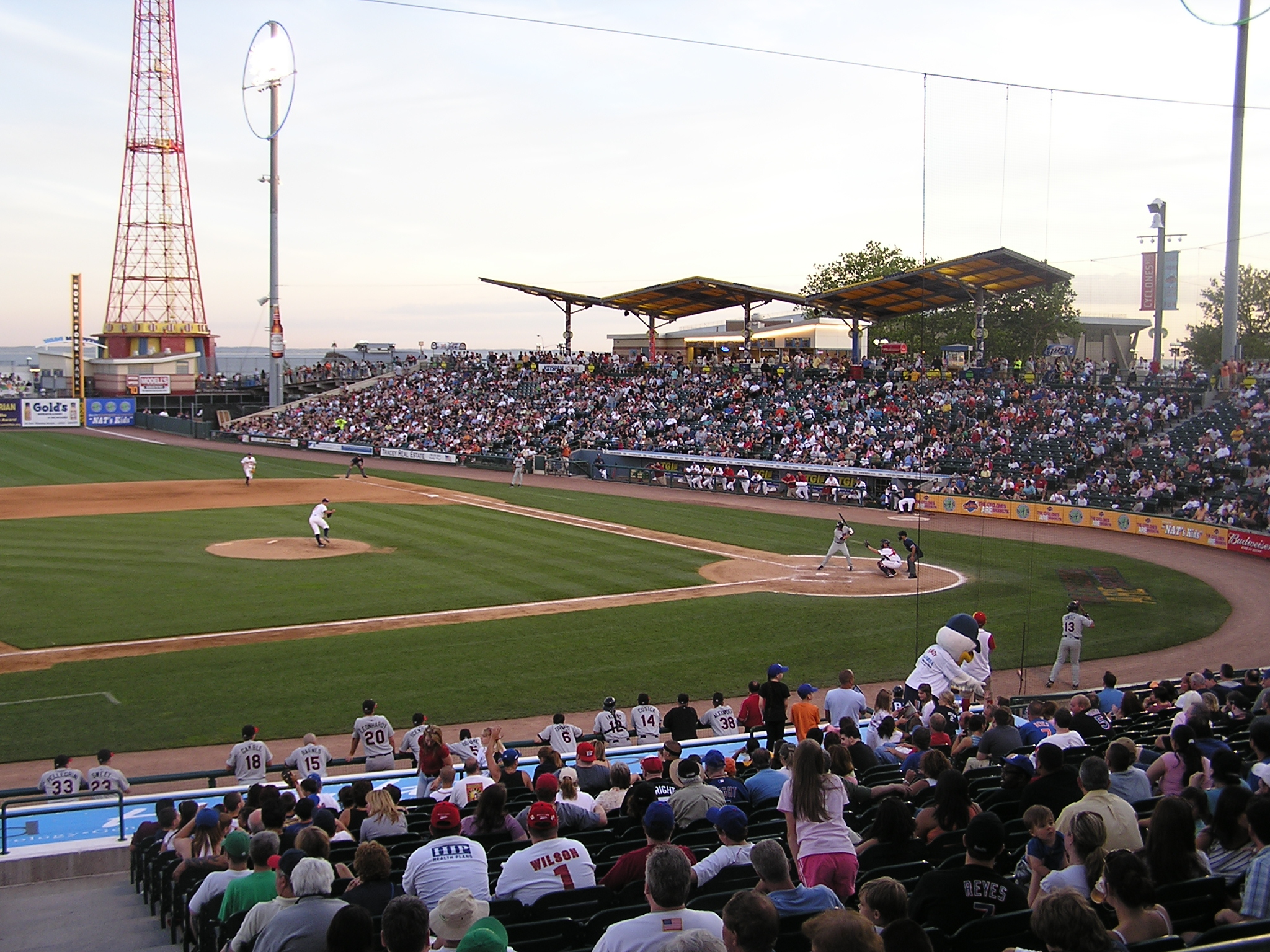 A view from the 3rd base side - Keyspan Park